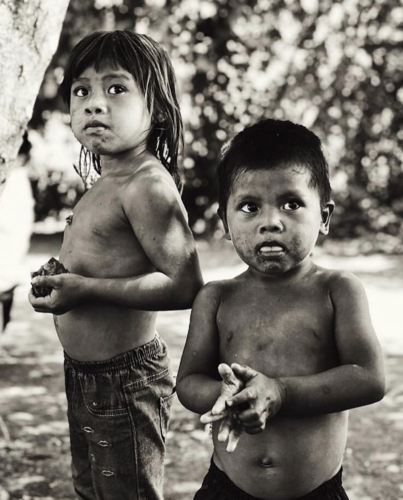 Guarani children by @fllavitt